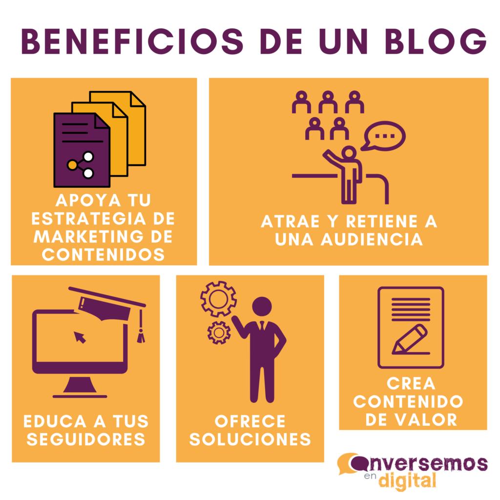 beneficios de un blog